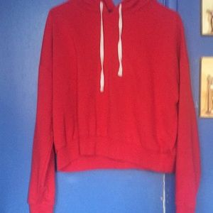 Red hoodie in great condition